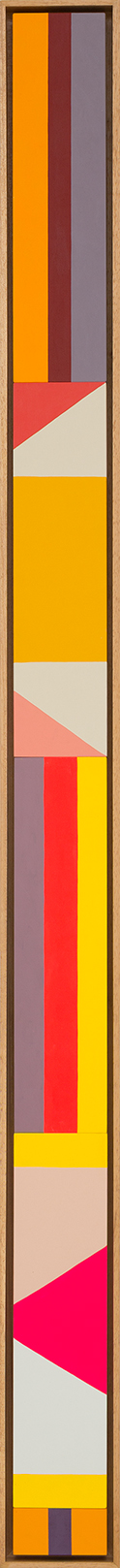LOUISE TUCKWELL  Return to Paradise 2015  acrylic on board 165 x 10 cm