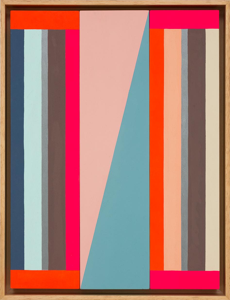 LOUISE TUCKWELL  Jump  2015 acrylic on board 40 x 30 cm