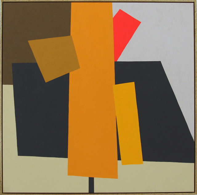 LOUISE TUCKWELL  From a bright centre  2014 acrylic on board 60 × 60 cm
