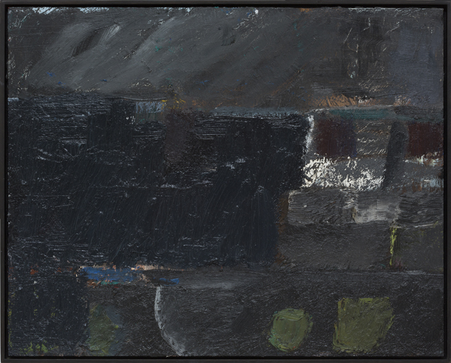 JAKE WALKER  Untitled painting 5 (almost gone)  2011-13 oil on board 41 × 51 cm
