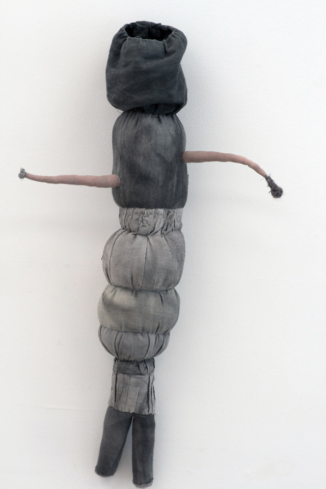 JADE PEGLER  Blinder  2015 fabric, thread, yarn, fibres, mixed media 57 × 32 × 12 cm