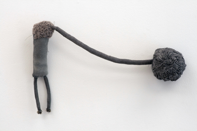 JADE PEGLER  Outbrain  2015 fabric, thread, yarn, fibres, mixed media 19 ×30 ×6 cm