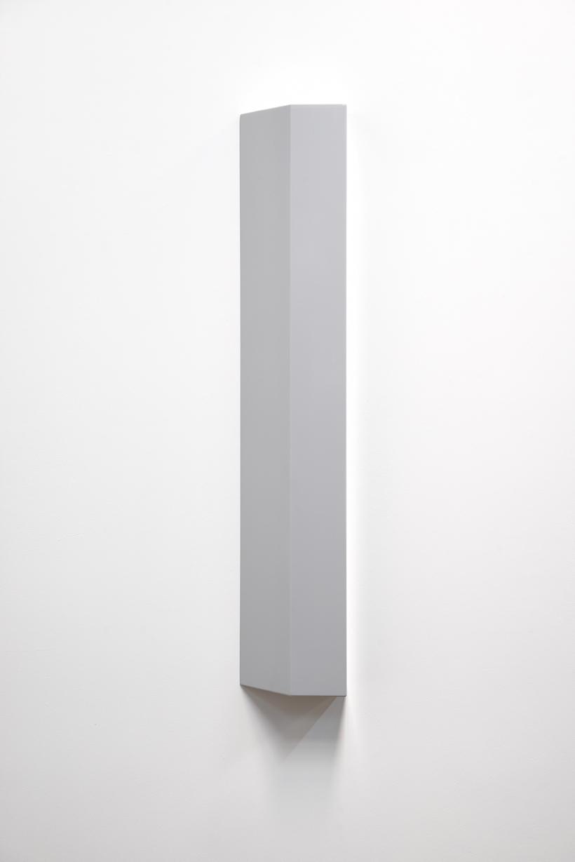 SUZIE IDIENS  Untitled #5  2016 MDF, polyurethane 118 × 22 × 11 cm