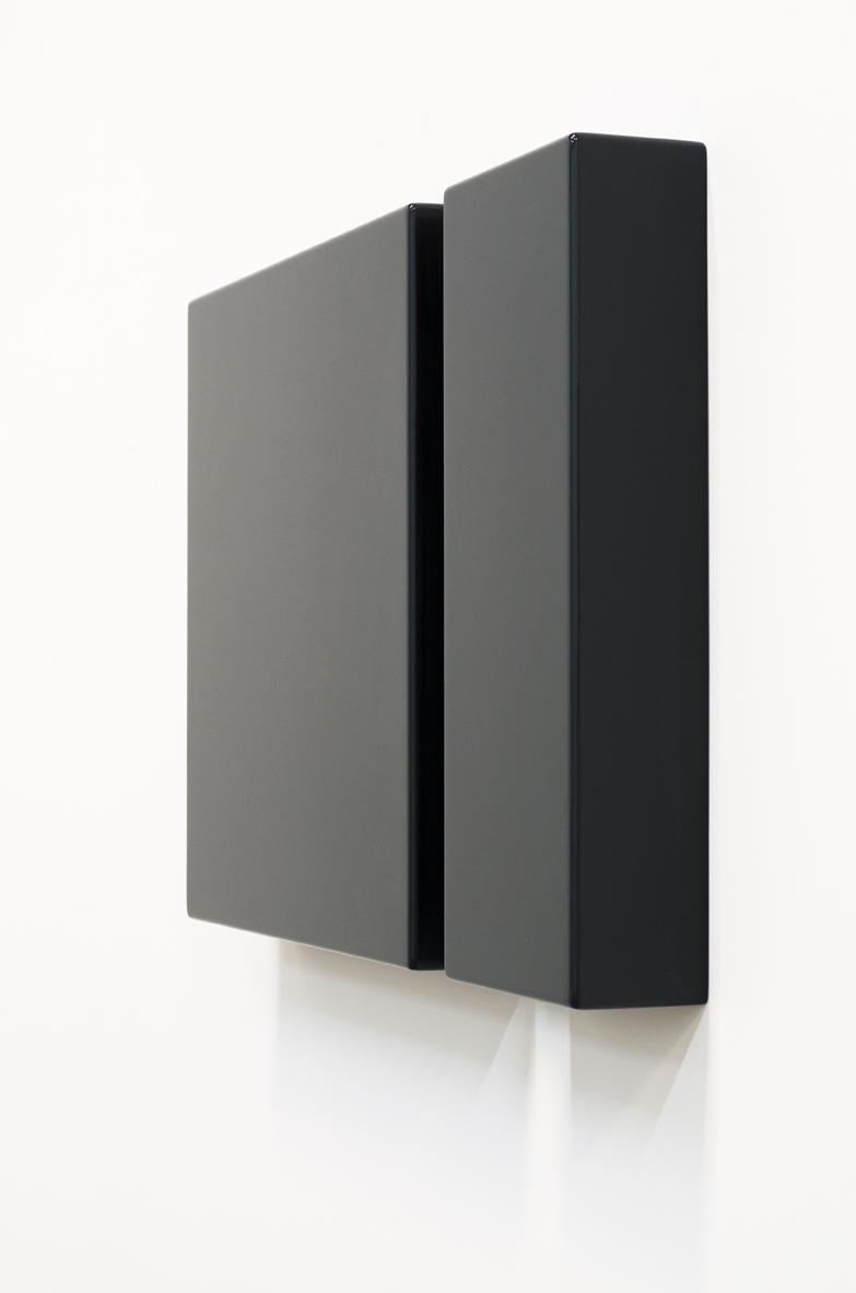 SUZIE IDIENS   Untitled #8  2016 MDF, polyurethane 49 × 70 × 8.5 cm