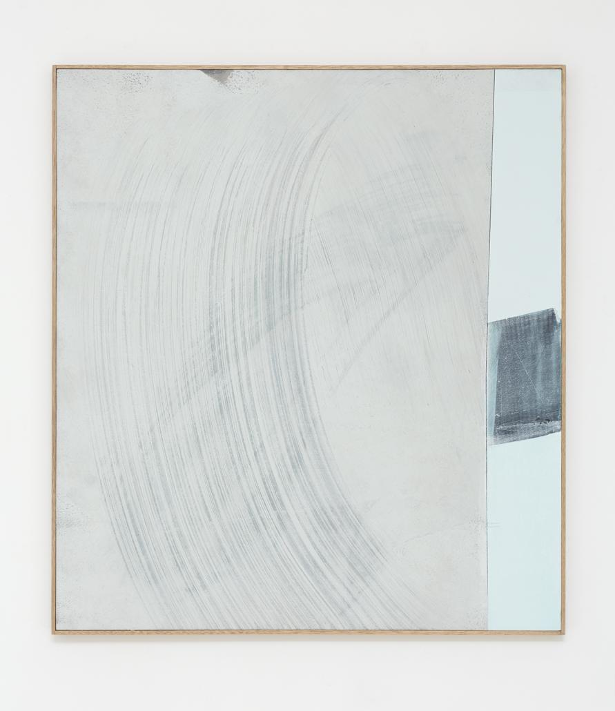 MICHAEL BENNETT  Cosmic Silence  2016 mixed media on board 112 × 102 cm (framed)