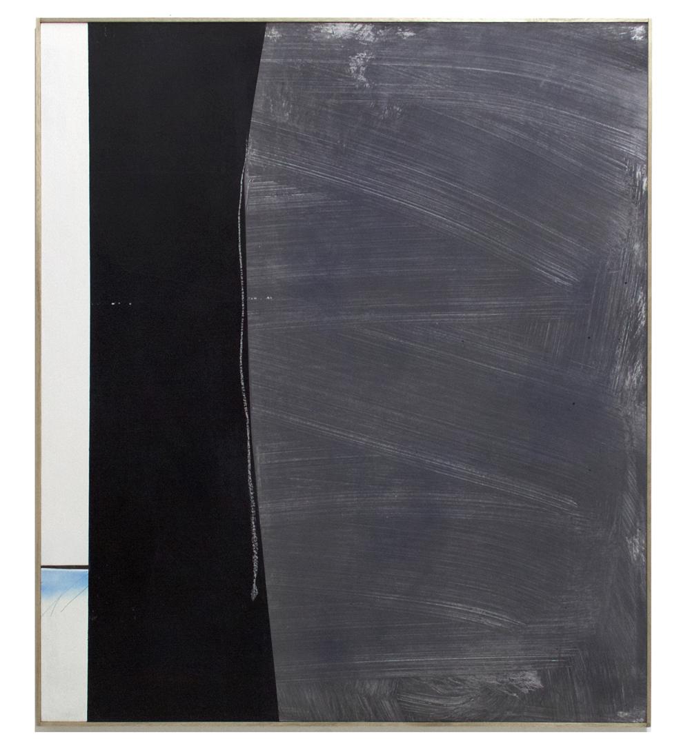 MICHAEL BENNETT  Push and Pull  2016 mixed media on board 138 × 124 cm (framed)