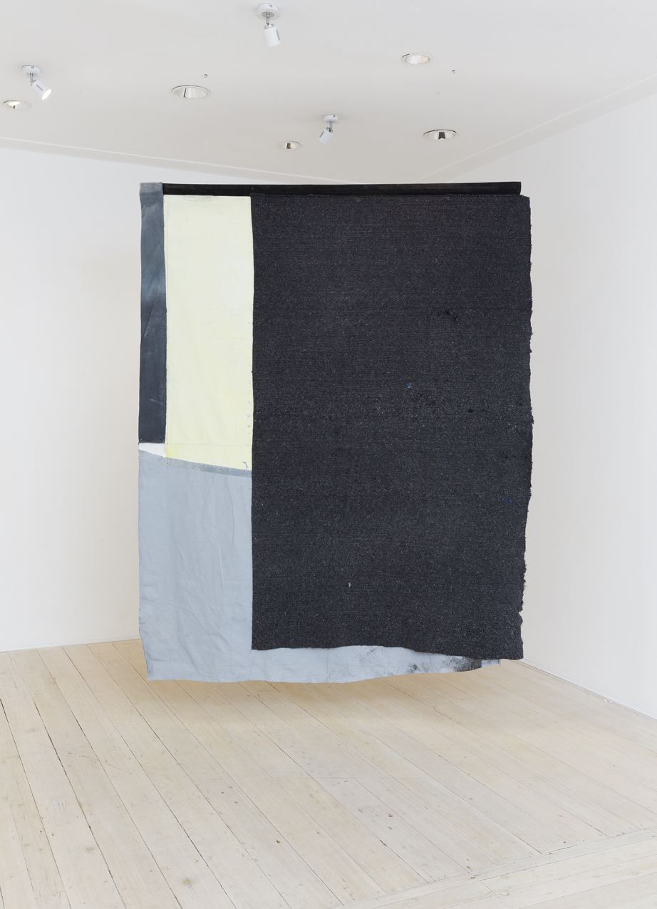MICHAEL BENNETT Wisdom of Stillness 2016 canvas, wool, foam, mixed media 230 × 185 cm