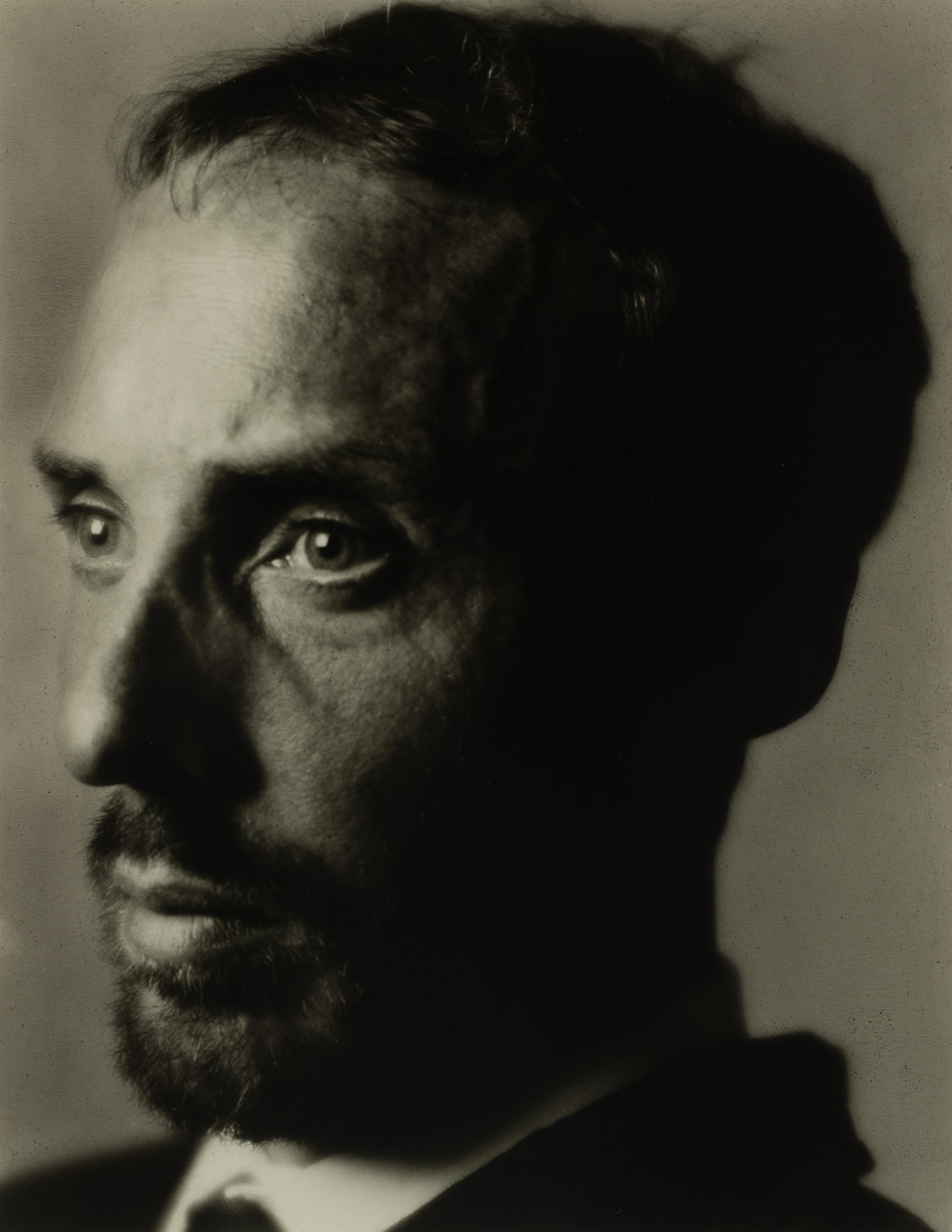SIMON KENNEDY  Portrait of Mr Anderson  2017 silver gelatin print 24 × 30.5 cm 68.5 × 58 cm (framed)