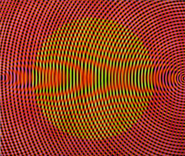 JOHN ASLANIDIS  Sonic no. 30  2012 oil and acrylic on canvas 107 × 127 cm