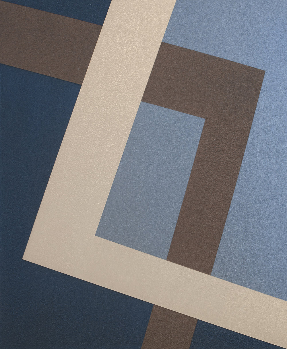 SAMARA ADAMSON-PINCZEWSKI  Copper Corner 2  2014 acrylic on wood panel 30 ×25 cm