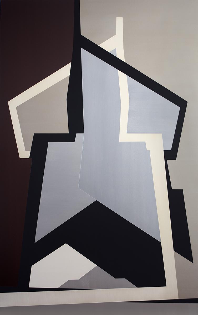 SAMARA ADAMSON-PINCZEWSKI  High Tension  2014 acrylic on canvas 183 ×114 cm