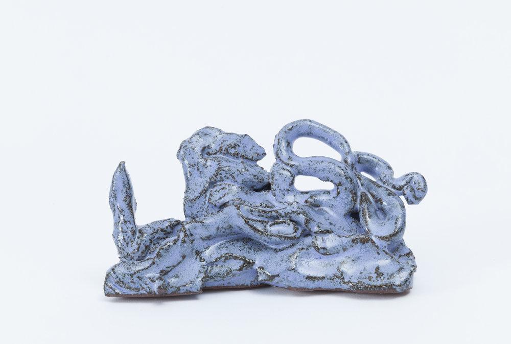 PAUL WILLIAMS Lump of Less 2015 glazed earthenware 7 × 6 × 15 cm