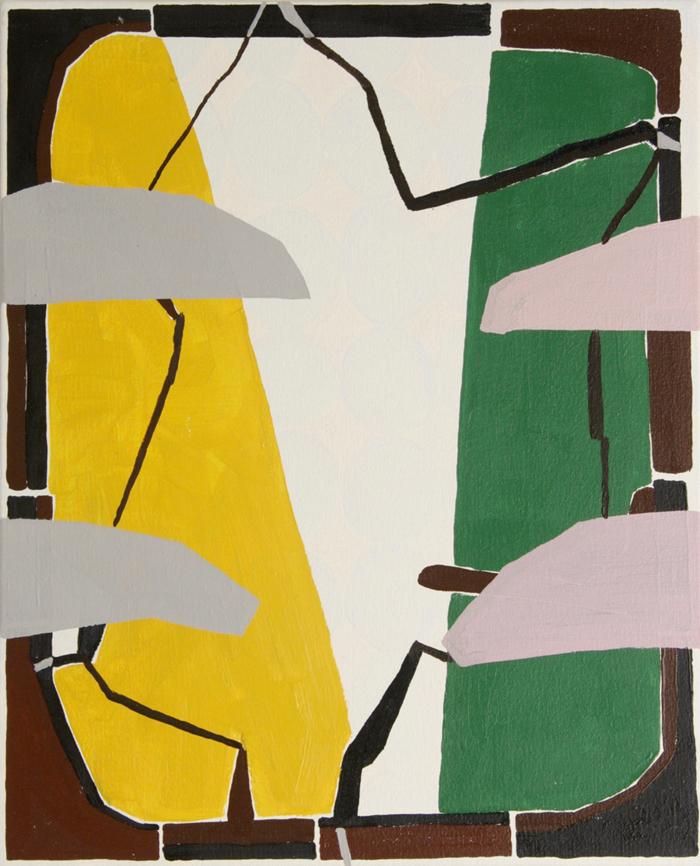 ROHAN HARTLEY MILLS  One Way Ticket  2016  oil on canvas 42 × 34 cm