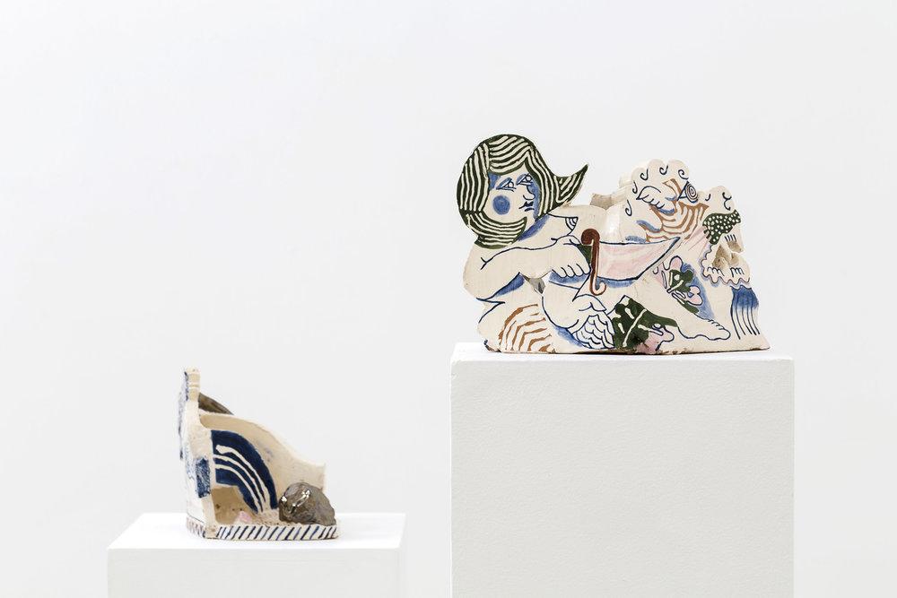 ETYAN MESSIAH  Reverse Tamer  2016  glazed ceramic, 20 × 26 × 20 cm
