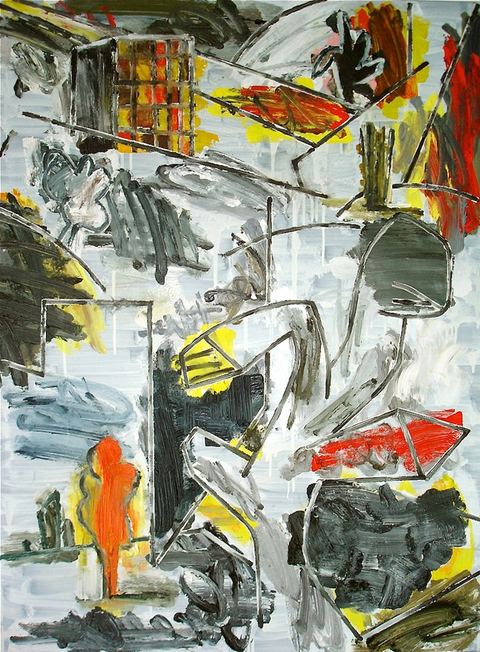 STUART WATTERS  Strange Country I  2015 oil on canvas 122 × 91 cm