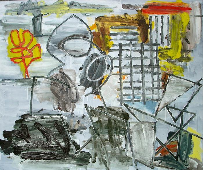 STUART WATTERS  Fool's Paradise  2015 oil on canvas 76 × 91 cm