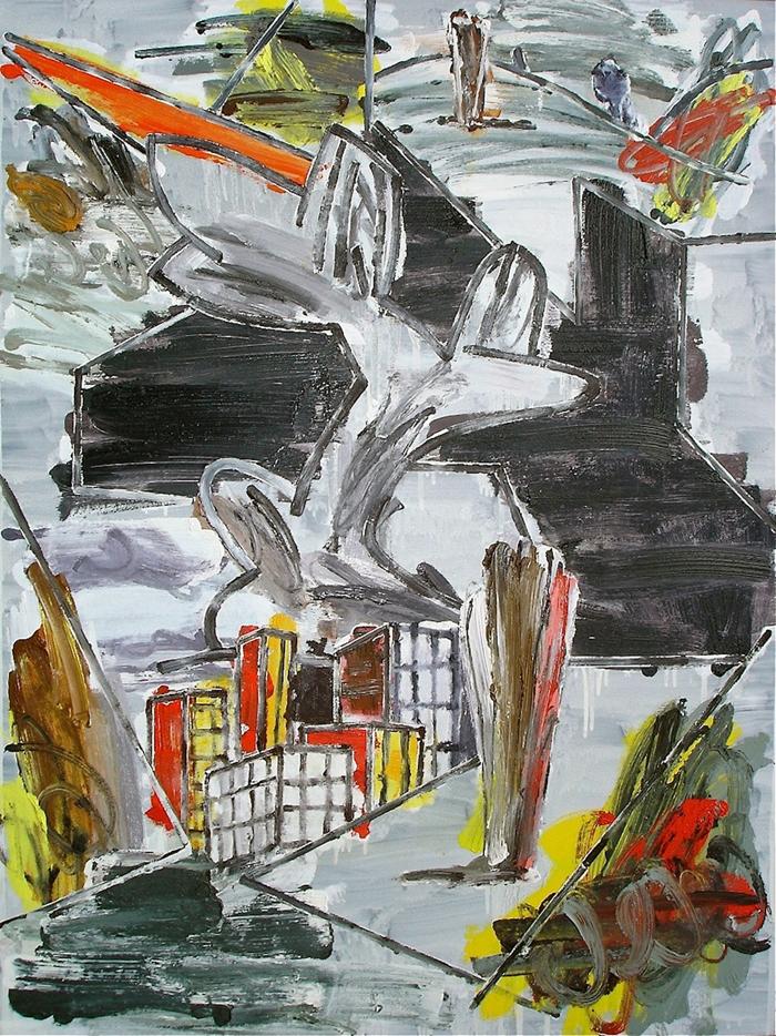 STUART WATTERS  Strange Country II  2015 oil on canvas 122 × 91 cm
