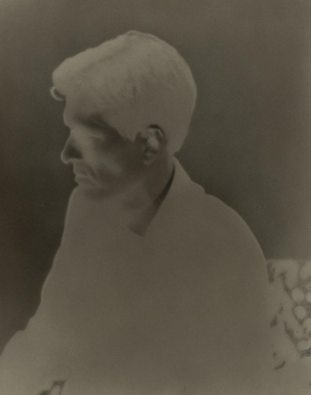 SIMON KENNEDY  Mr Squires  2017   silver gelatin print 20.3 ×25.5 cm 70 × 57 cm (framed)