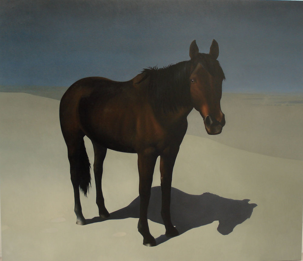 SIMON KENNEDY  Run Run 2007 oil on canvas 198 × 228.5 cm