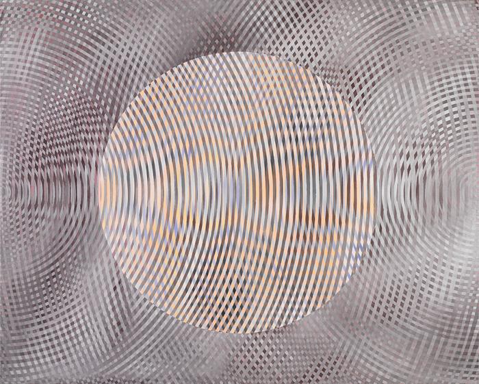 JOHN ASLANIDIS Sonic No.132008 oil and acrylic on canvas 123 ×152 cm