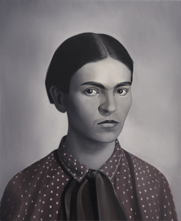 SIMON KENNEDY  FRIDA  2009 oil on canvas  45 × 56 cm