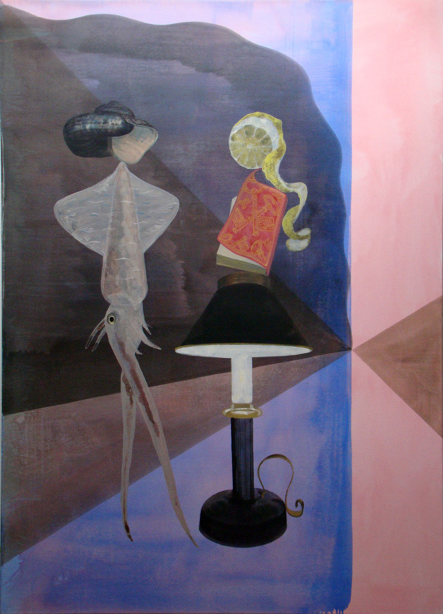 JULIAN HOOPER  Late Night Thursday  2010 acrylic on linen 180 × 130 cm