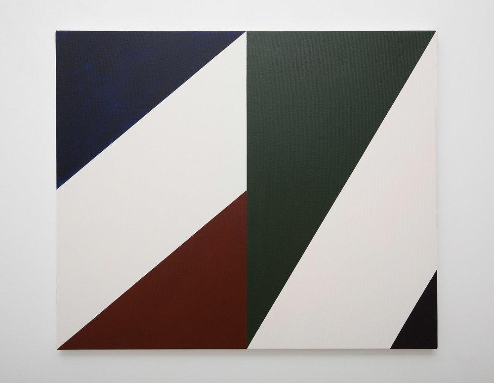 SIMON BLAU  Half Light  2010 acrylic on canvas 76 ×91.4 cm