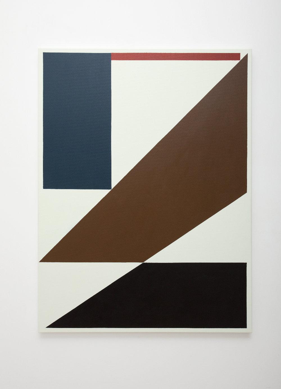 SIMON BLAU  Painting in a Room 2010 acrylic on canvas 122 ×152.5 cm