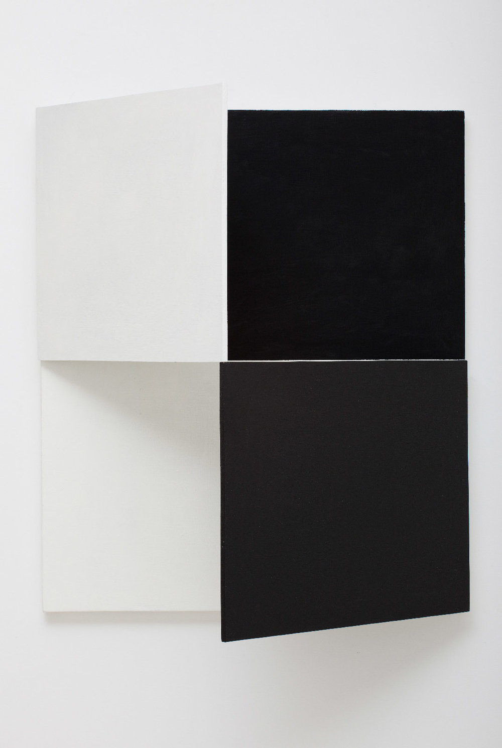 SIMON BLAU  Fold Up  2010 oil and acrylic with canvas and plywood with hinges