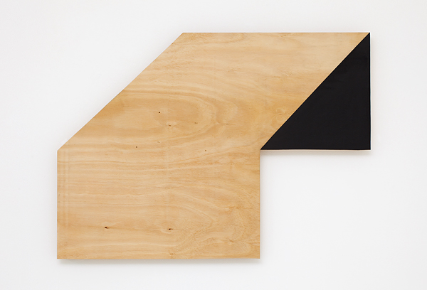 SIMON BLAU  Coffee table  2010 acrylic on plywood 52.5 × 73 cm