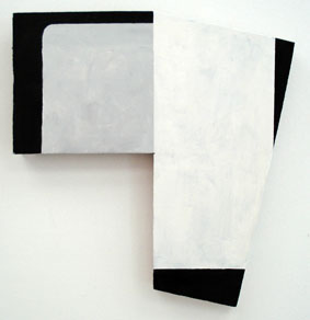 SIMON BLAU  4° Celsius  2007 acrylic on plywood 31 × 29 cm