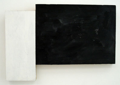SIMON BLAU   Nightfall  2007 acrylic on plywood  29.5 × 43 cm