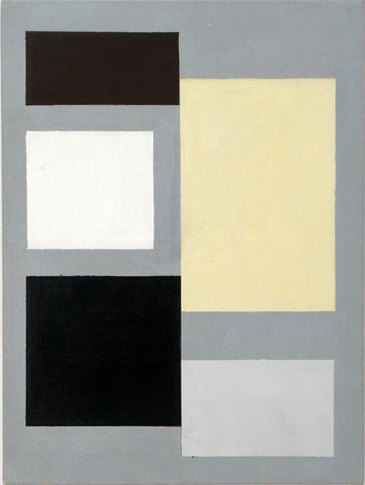 SIMON BLAU   Aisle 2006 acrylic on polyester 41 ×30 cm