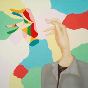MICHELLE HANLIN  I Made 2008 acrylic on canvas 61 ×61 cm