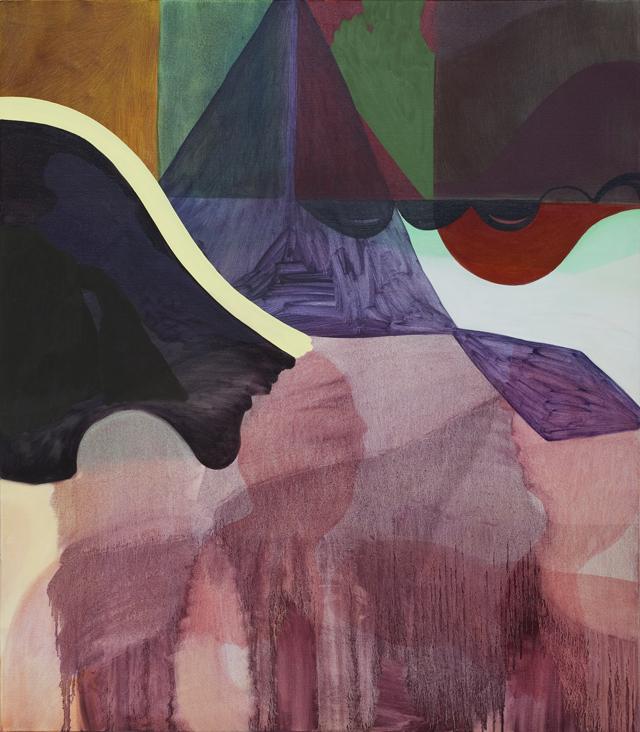 TONEE MESSIAH  Melting Pot  2012  oil on canvas 121.5 ×106.5 cm