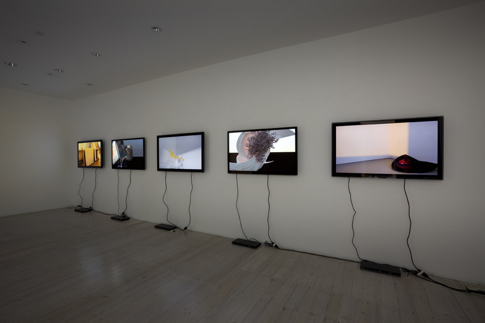 PETER ALWAST  Future Perfect (Drawings)  2011 5 channel video installation, dimensions variable Edition of 3