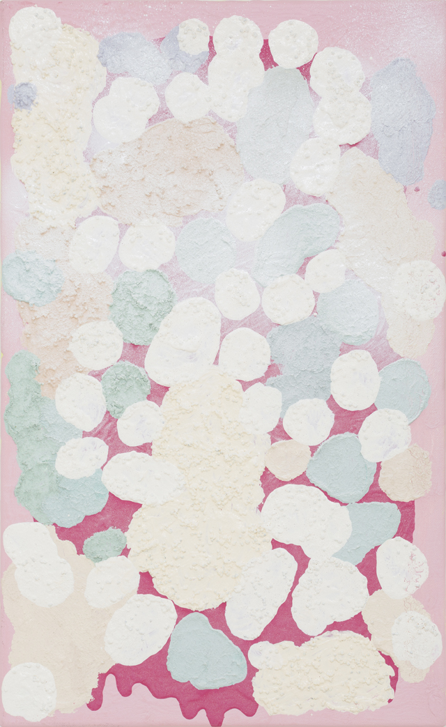 SARAH CROWEST  Scott Miles  2014 synthetic polymer paint on linen 30 × 49 cm
