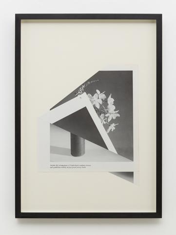 MARITA FRASER  O.T. (no.12) 2014  collage, bookplate 40 ×30 cm