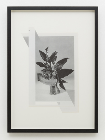 MARITA FRASER  O.T. (no.14) 2014 collage, bookplate 40 ×30 cm