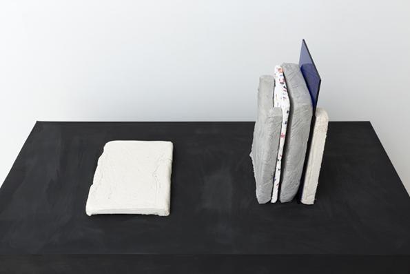 MARITA FRASER  Pattern Recognition  (no.10)2014 plaster, papier mâché, acrylic  dimensions variable