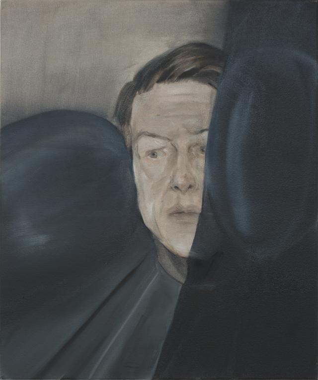 JELENA TELECKI  Nyomás  2014 oil on canvas 51 ×45 cm