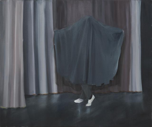 JELENA TELECKI  Vége  2014 oil on canvas 82 ×97 cm