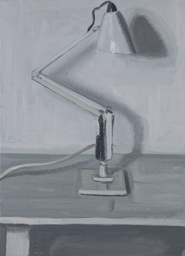 YVETTE COPPERSMITH  After = Decipher  2014 oil on linen 91.5 ×66 cm