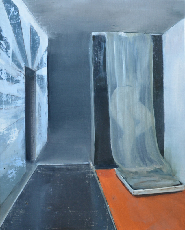 JELENA TELECKI  Utopia 2  2014 oil on linen 51 × 46 cm