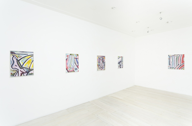 SIMON BLAU  DOUBLE VISION  23 JAN – 16 FEB 2013