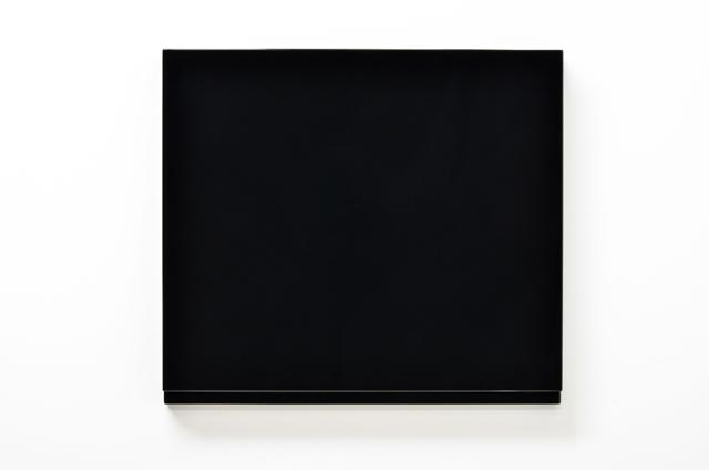 SUZIE IDIENS  Untitled # 2  2014 MDF, polyurethane 73 × 82 × 8 cm