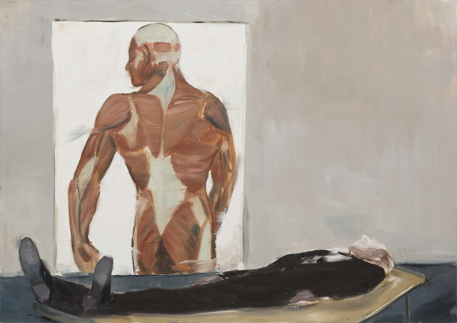 JELENA TELECKI  Diagnosis  2012 oil on canvas paper 42 ×59.4 cm
