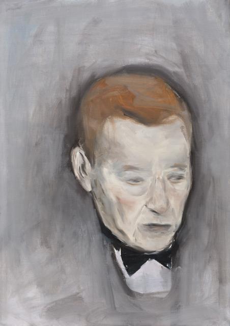 JELENA TELECKI  Glembaj  2012 oil on canvas paper 59.4 ×42 cm