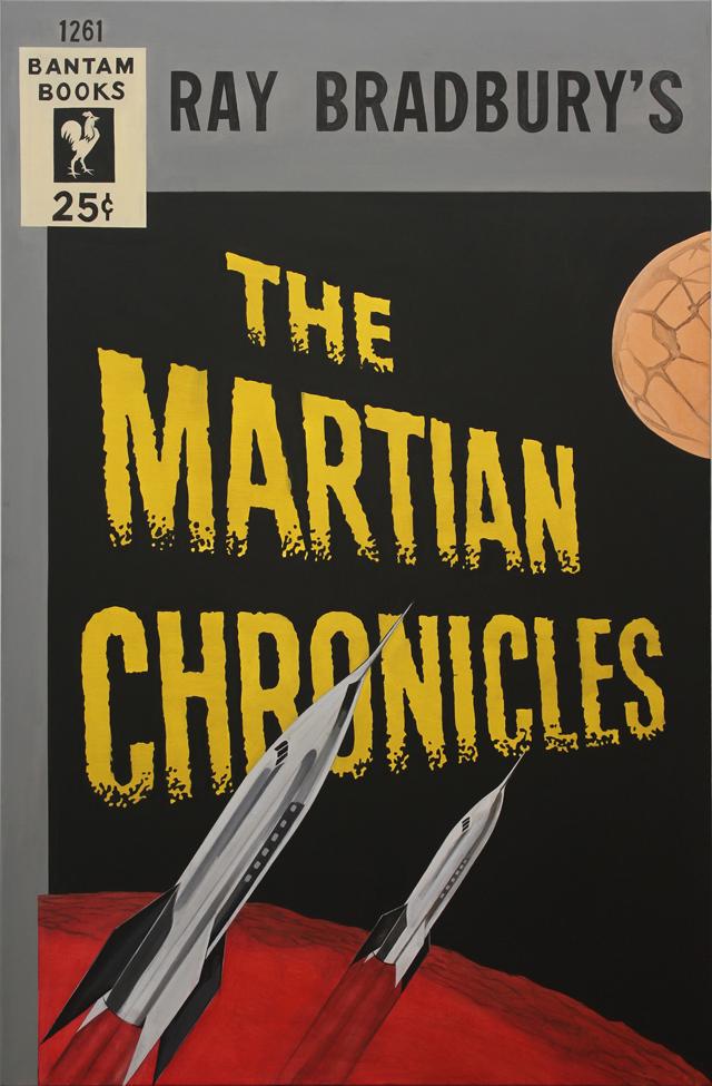 ADAM NORTON  The Martian Chronicles  2012 acrylic on canvas 192 ×126 cm