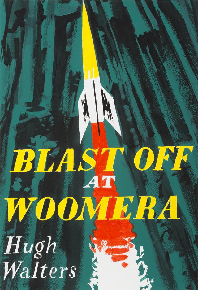 ADAM NORTON  Last Off At Woomera  2013 vinyl on paper 50 ×34 cm